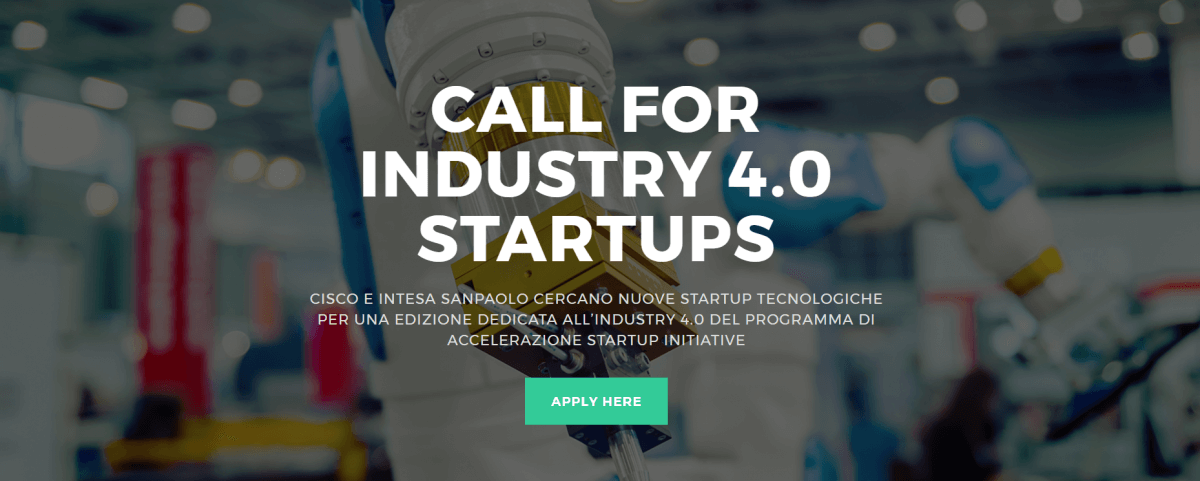 Call For Industry 4.0