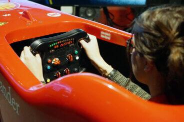 Simulatore Ferrari