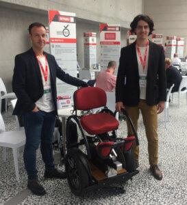 Mario Vigentini e Flaviano Tarducci a Smau Berlino 2017