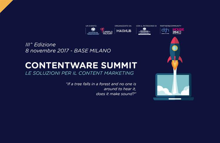 Contentware Summit 2017 Milano
