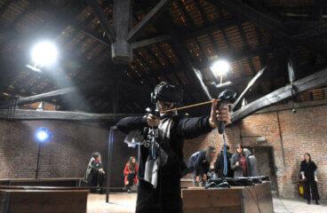 Beyond the Castle arciere realtà virtuale