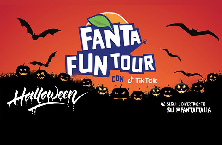 Fanta Fun Tour con TikTok halloween