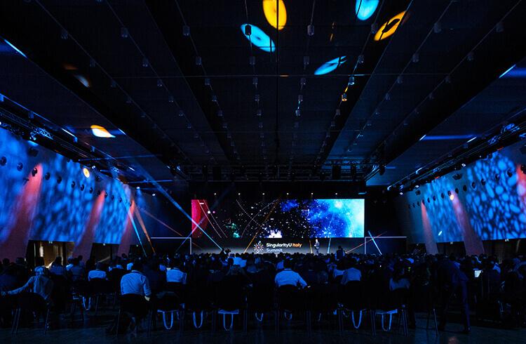 La plenaria del SingularityU Italy Summit 2019
