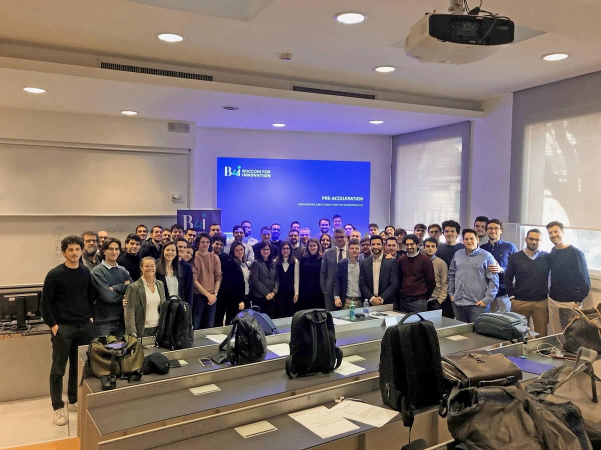 Prime startup di Bocconi for innovation