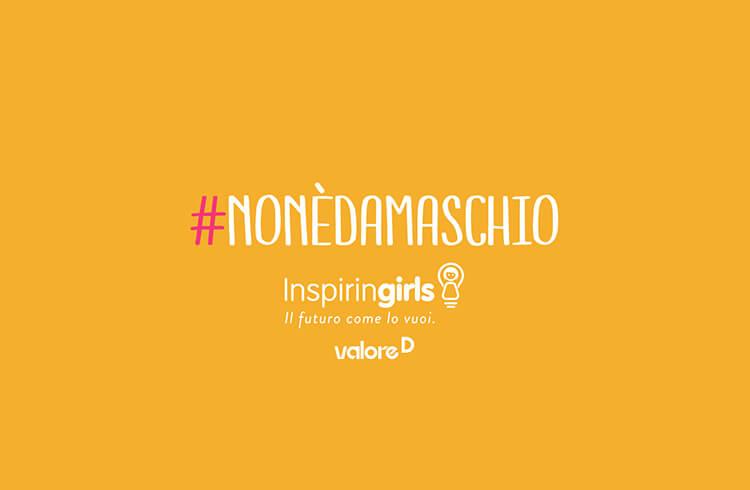 La campagna #nonèdamaschio di InspirinGirls