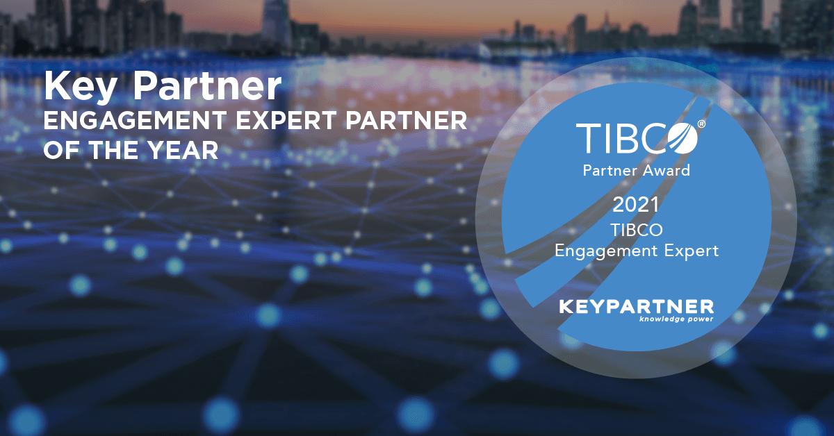 Key Partner è Tibco Partner Engagement Expert of the Year 2021